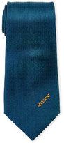 Missoni Turquoise Pattern Silk Tie