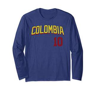 Colombia or Colombian Design for Football and Soccer Fans Long Sleeve T-Shirt