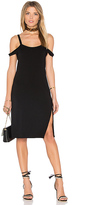 Feel The Piece Verkler Cold Shoulder Dress in Black. - size M/L (also in XS/S)