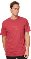 Stussy 1990 Mens Tee Red