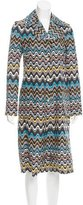 M Missoni Silk Printed Jacket