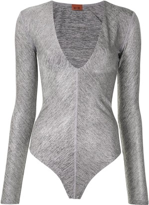 Alix Irving metallic bodysuit