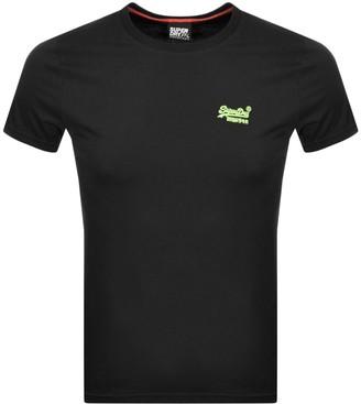 Superdry Short Sleeved T Shirt Black