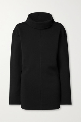 Kwaidan Editions Stretch-ponte Turtleneck Sweater - Black