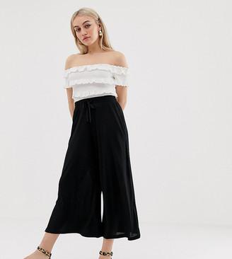 ASOS DESIGN Petite cropped drawstring pants