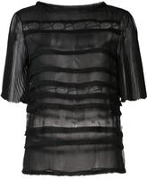 Jason Wu sheer panelled top