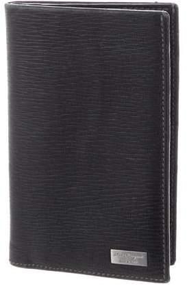 Salvatore Ferragamo Leather Flap Wallet