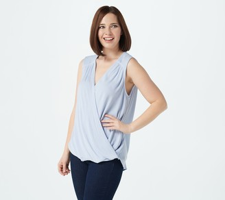 Gibson Look High Low Surplice Tank
