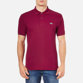 Lacoste Men's Polo Shirt Bordeaux