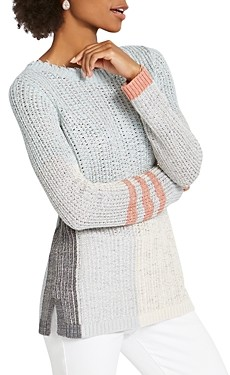 Nic+Zoe Modern Love Color Blocked Sweater