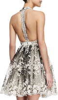 Alice + Olivia Betrice Lace Party Dress