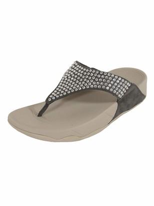 FitFlop Women's GLITZIE Toe-Thong Sandals
