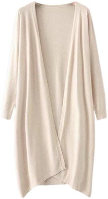 Goodnight Macaroon 'Aiko' Basic Soft Wrap Thin Long Cardigan (5 Colors)