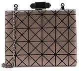 Sondra Roberts Geometric Faux Leather Minaudiere