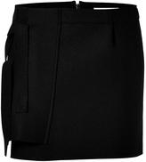J.W.Anderson Wool Panel Mini-Skirt in Black