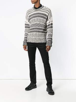 Ami Paris Crewneck oversize sweater