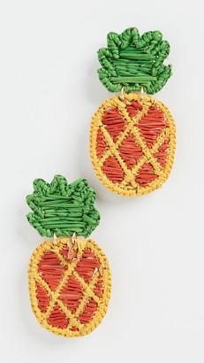 Mercedes Salazar Pineapple Earrings