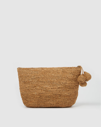 Arms Of Eve - Women's Neutrals Clutches - Tiana Woven Small Bag - Natural - Size One Size at The Iconic