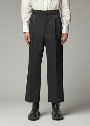 Givenchy Men's Boot Cut Chino Pants in Black Size 48 Polyester/Cotton