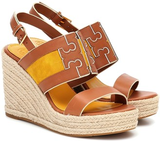 Tory Burch Ines leather espadrille sandals
