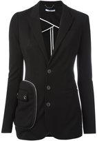 Givenchy pocket detail blazer - women - Polyamide/Spandex/Elastane/Viscose - 36