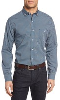 Maker & Company Men's Regular Fit Check Sport Shirt