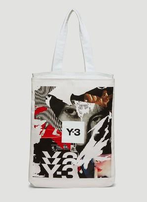 Y-3 CH1 Graphic Print Tote Bag