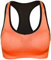 Qiaoer Women's Padded Running Sports Bras shockproof Fitness Workout Yoga Bra (L, )