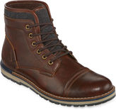 Jf J.Ferrar JF Tookers Mens Lace-Up Fashion Boots