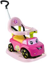 Smoby 4 In 1 Ride On Car Pink