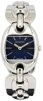 Gucci 121.5 Stainless Steel with Navy Dial 26mm Womens Watch