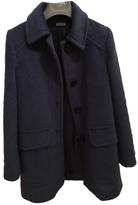 Miu Miu Turquoise Wool Coat