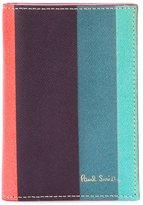 Paul Smith 'Artist Stripe' print card holder