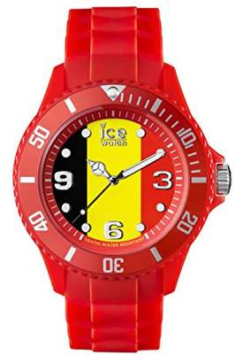 Ice Watch Ice-Watch - ICE World Belgium - Men's Wristwatch with Silicon Strap - 000570 (Small)
