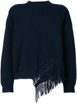 Stella McCartney knit fringed top - women - Cashmere/Wool - 36