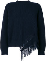 Stella McCartney knit fringed top