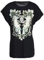 Roberto Cavalli Metallic Printed Modal-Jersey T-Shirt