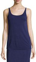 Eileen Fisher Silk Jersey Long Slim Camisole, Plus Size