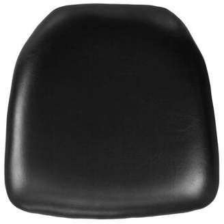 "Offex Chiavari Chair 2.75"" Thick Hard Cushion Offex Color: Black"