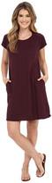 Allen Allen Short Sleeve Two-Pocket Dress