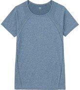 Uniqlo Women Dry Seamless Crewneck Short Sleeve T-Shirt