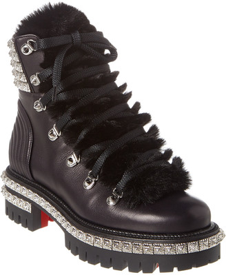 Christian Louboutin Yeti Donna Leather Bootie