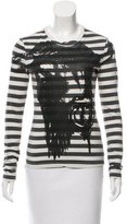 McQ by Alexander McQueen Striped Knit Top