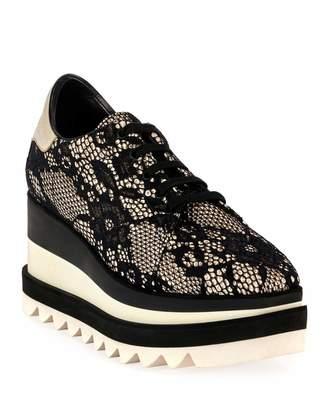 Stella McCartney Sneakelyse Lace Chunky Sneakers