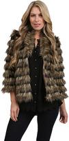 Sydney Faux Fur Coat in Natural