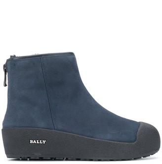 Bally Guard II suede boots