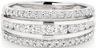 Beaverbrooks Platinum Diamond Ring