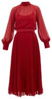 Max Mara Maliza Dress - Womens - Red
