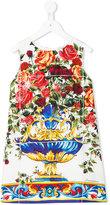 Dolce & Gabbana Vase Majolica dress - kids - Silk/Viscose - 2 yrs