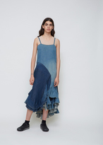 Junya Watanabe Indigo Denim Patchwork Dress